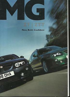 Rover Mg Zt And  Zt-T Sales Brochure 2004