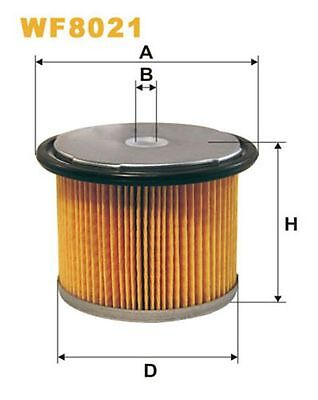 To Clear - New Oe Quality Wix - Fuel Filter - Wf8021