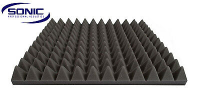 Pyramid Profile Acoustic foam sound treatment tiles, professional studio/music