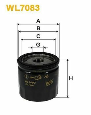 To Clear - New Oe Quality Wix - Oil Filter - Wl7083