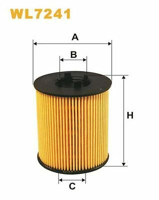 To Clear - New Oe Quality Wix - Oil Filter - Wl7241