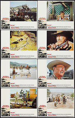 BIG JAKE original 1971 lobby card set JOHN WAYNE 11x14 movie posters