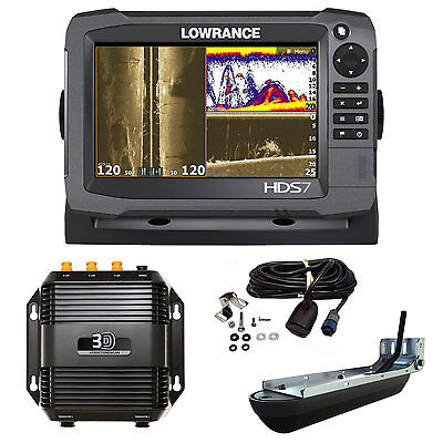 LOWRANCE Ecoscandaglio / Chartplotter - HDS-7 Gen3 ROW Mid/Hig 3D STRUCTURESCAN