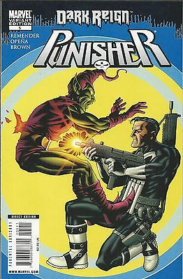 Marvel Punisher comic issue 5 Limited variant