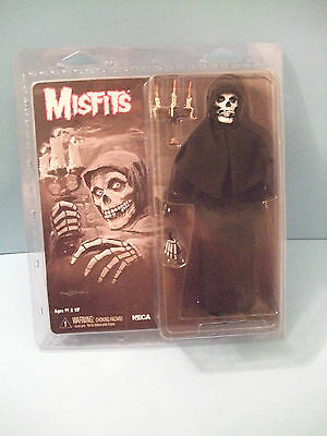 """MISFITS 8"""" """"THE FIEND"""" Retro Style Action Figure ( black Robe) by NECA NEW MOC"""