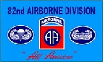 82nd..AIRBORNE DIVISON All American  FLAG