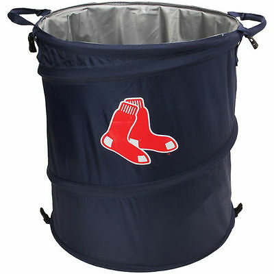 Boston Red Sox Collapsible 3-in-1 Trashcan Cooler - MLB