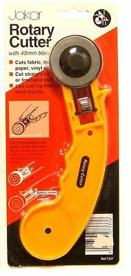 Jakar 45mm Large Rotary Cutter Quilter Sewing Fabric Craft Quilting Cutting Tool