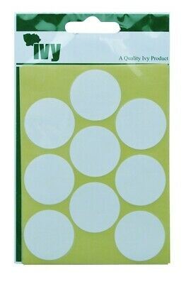 White Oblong Labels Sticky Labels 19mm x 38mm Self Adhesive Stickers by Ivy
