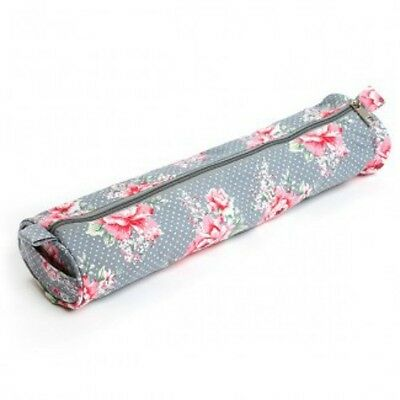 Knitting Needle Case Ditsy Floral Pattern Storage Bag for Knitting Pins Needle
