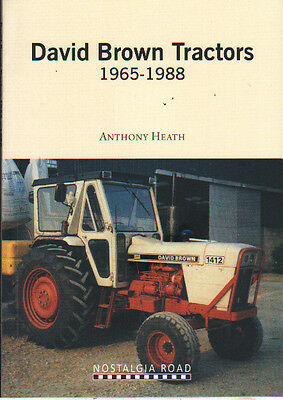 David Brown Tractors 1965-1988 Tractor History Book - Anthony Heath