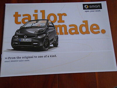 Smart Brabus Tailormade brochure May 2012