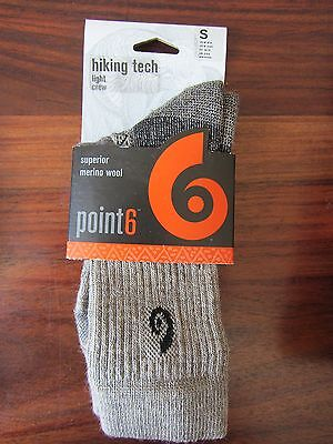 Chaussette / Socks    Hiking Tech  Light Crew   Crew  -- Point 6   -- Taille S