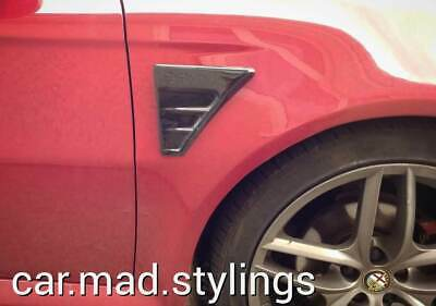 Ford Focus MK2/Mondeo RS Style Side Bonnet Vents/Scoop/Air Intake