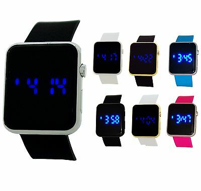 Reflex Unisex LCD Digital Multi-Function Rubber Casual Strap Watch Gift For Him