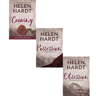Steel Brothers Saga Series 3 Books Collection Set By Helen Hardt NEW Obsession