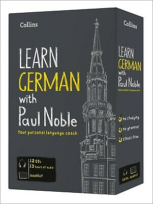 Learn German with Paul Noble Collins Set Collection 12 CDs DVD Booklet