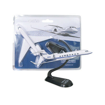 Lupa Gulfstream G650 Business Jet Desk Top Display 1/250 Model Aircraft Airplane