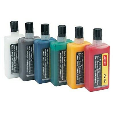Aristo Artists Drawing & Technical Pen Ink 23ml. 7 Colours to choose from.