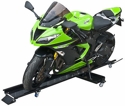 New Motorcycle Dolly Motorcycle Stand Steel 450 kg Side Stand Included Parking