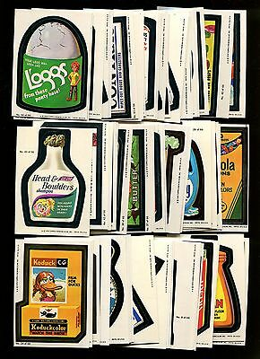 1979 Wacky Packages Series 1 (1-66) Complete Set Pack Fresh W/ Wrapper *inv3666