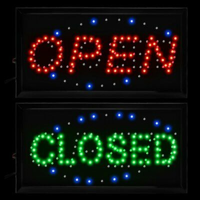 Animated Motion LED Business 2-in-1 Open Close SIGN OnOff Switch Light Neon