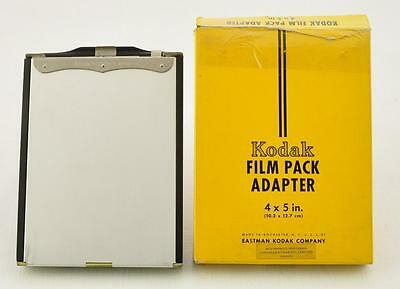 Kodak Film Pack Adapter 4X5 In.