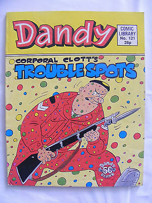 Dandy Comic Library #121 Corporal Clotts Trouble Spots