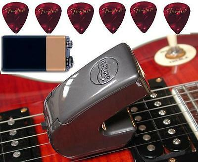 NEWEST VERSION EBOW PLUS GUITAR EFFECT E-BOW +MINI CD+6 fender picks and Battery