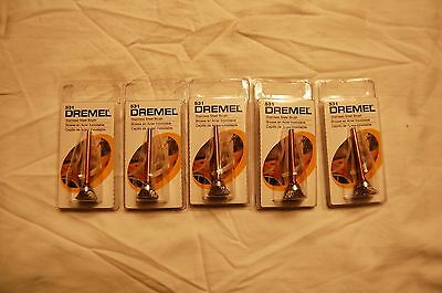 "Dremel Model 531 1/2"" Stainless Steel Cup Brush (Qty of 5 Brushes)"