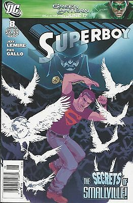 DC Superboy comic issue 8