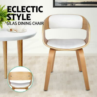 Silas Dining Chair Smiling Design Wooden Kitchen Café Bar Natural Designer