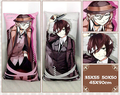 Bungou Stray Dogs Osamu Dazai Chuya Nakahara Pillow Cushion Custom-made Gift