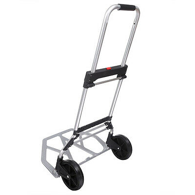 Portable Folding Hand Truck Dolly Utility Luggage Cart 240 lbs Load Capacity EH7