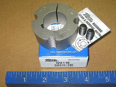 "Martin 1610 1-1/8"" Taper Lock Bushing 161011/8 1610 11/8  -   New in Box"