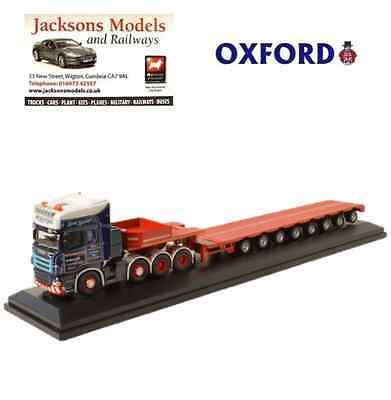 Oxford SCA04LL Scania R Series Topline Low Loader McFadyens 1:76 Scale