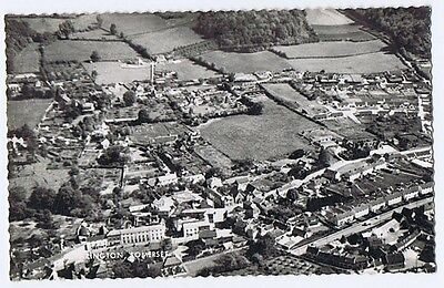 WRINGTON Somerset, View from the Air, RP Postcard Unused