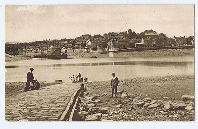 PILL Somerset, The Ferry, Shirehampton Side, Old Postcard Postally Used