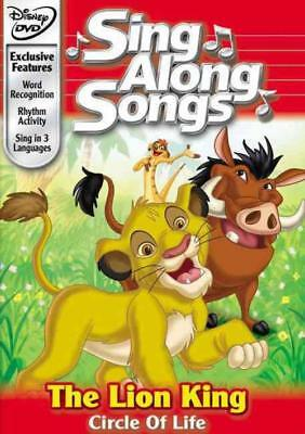 Disney's Sing Along Songs - The Lion King: Circle Of Life New Region 1 Dvd
