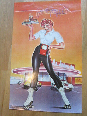 AMERICAN GRAFFITI  Soundtrack poster 22x33.5