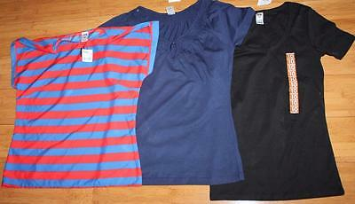 NOW Brand 3 x Blouse T-Shirt Tops Size 10-S BNWT