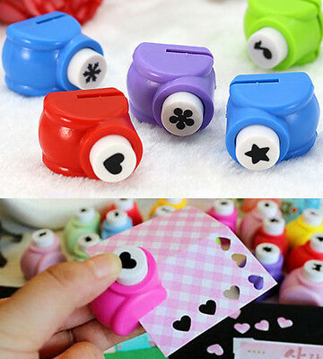 Cute Paper Shaper Edge Crafts DIY Printing Hole Mini Punch Scrapbooking Tool 28