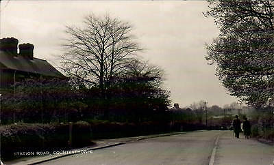 Countesthorpe near Wigston. Station Road.