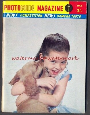 PHOTO GUIDE Magazine, May 1961. Very Good Condition. Free UK Postage. ref 2303