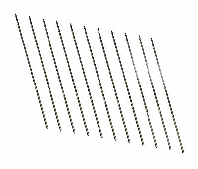 Rdgtools Hss 11Pc Long Series Drill Set 1.0 - 2.0Mm In 0.1 Increments