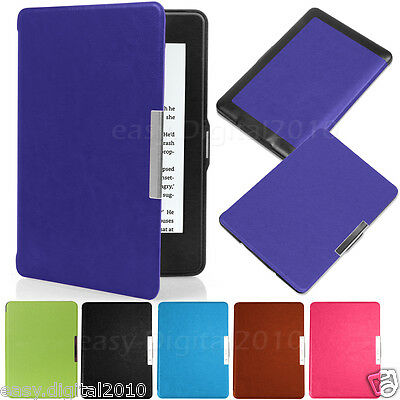 Magnetic Leather Smart Case Cover for All New Kindle Touch 8th Genertion 2016