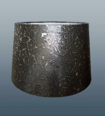 Silver Foile Empire Drum Lampshade Ceiling Light Pendant or Table Lamp Shade