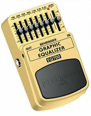 Behringer EQ700 Graphic Equalizer Guitar Effects Pedal