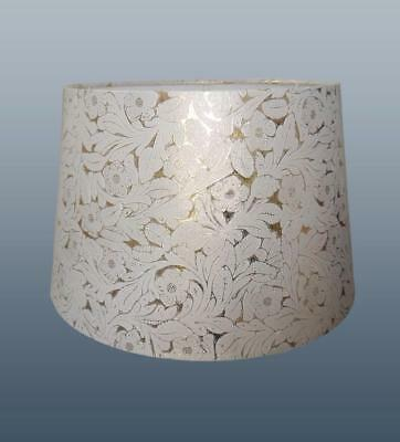 Cream Gold Foile Empire Drum Lampshade Ceiling Light Pendant or Table Lamp Shade