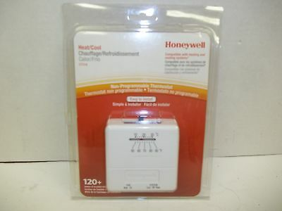 Honeywell Non- Programmable Mechanical Thermostat Heat/Cool  Model  CT31A
